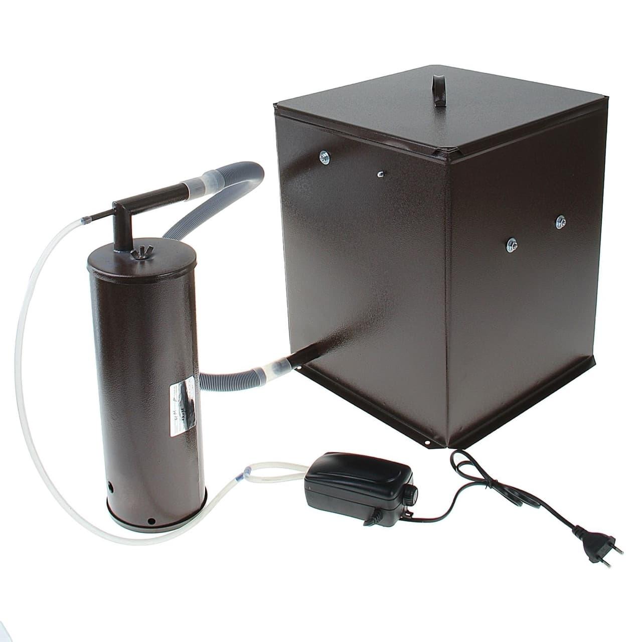 Коптильня холодного копчения с емкостью 32 л. УЗБИ - фото 5298