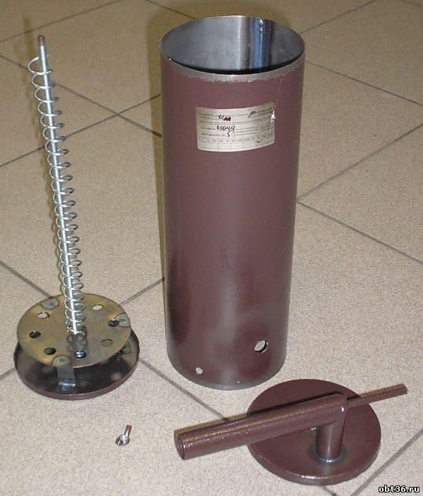 Коптильня холодного копчения с емкостью 32 л. УЗБИ - фото 5302