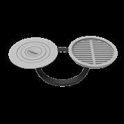 Комплект 440 (плита+решетка-гриль для печи Берель)
